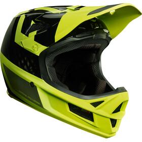 Fox Rampage Pro Carbon Preest Miehet Pyöräilykypärä , keltainen